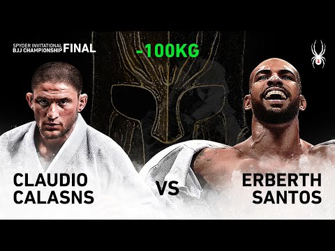 2019 SPYDER INVITATIONAL BJJ CHAMPIONSHIP FINAL -100kg Quarter Final : C.Calasans Vs E.Santos(Full)