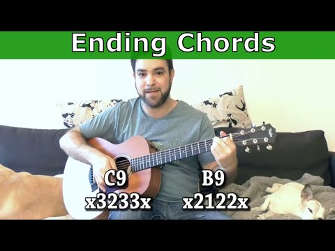16 Awesome Ending Chords & Riffs For Pro Blues - Guitar Lesson Tutorial w/ TAB