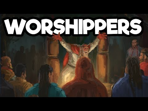 Worshippers Gameplay #2 - Crafting a Deck and Invading New Lands!