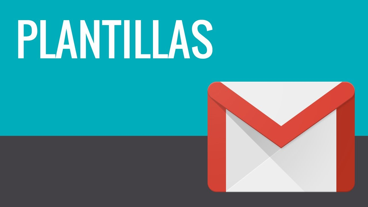 Cómo crear una plantilla de correo para Gmail - YouTube
