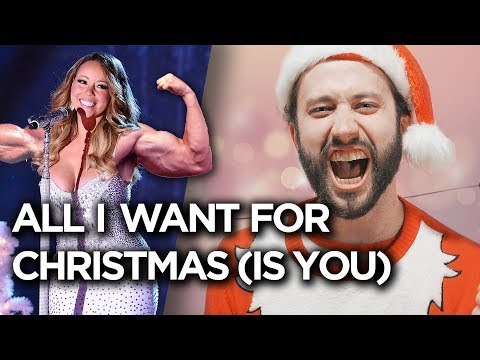All I Want for Christmas is You - METAL COVER (Mariah Carey) by Jonathan Young)