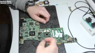 видео Почему не включается ноутбук Toshiba SATELLITE L750D-112