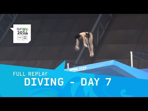 Diving - Day 7 Women's 10m platform Final | Full Replay | Nanjing 2014 Youth Olympic Games