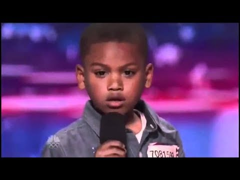 """7 Year Old Raps """"Look At Me!"""" By XXXTentacion On America's Got Talent (Shocks Judges And Cries)"""