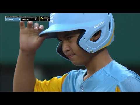 Little League Baseball 2019 - Hawaii Vs Virginia
