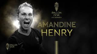 VIDEO: Nominée Ballon D'or : Amandine Henry | Olympique Lyonnais