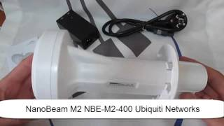 видео Ubiquiti NanoBeam M2-13 (NBE-M2-13)
