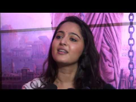 Bahubali movie  Anushka Shetty special interview