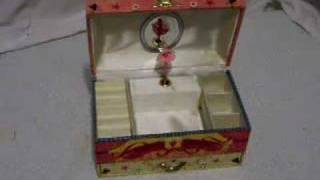 Colorful Child's Musical Jewelry Box