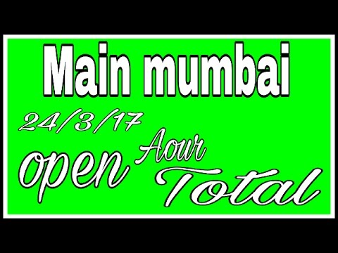 mumbai main aaj ka open