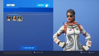 Fortnite Season 3 Edit Style Skins Moonwalker, Mission Specialist, Elite agent Show Case 2019