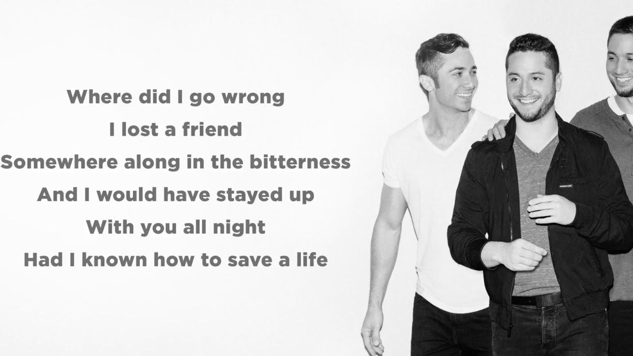 How To Save A Life — The Fray (Lyrics)(Boyce Avenue piano acoustic cover)