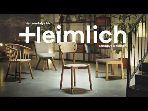 Sandalye yardımıyla Heimlich Manevrası nasıl yapılır?