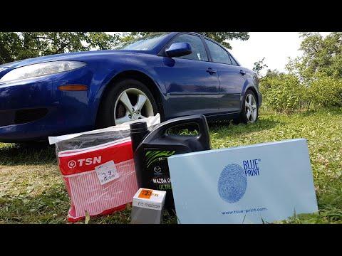 Mazda 6 gg. Замена масла и фильтров (салонного, воздушного и масляного)