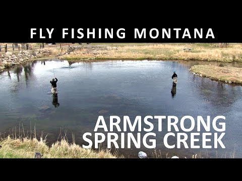 Fly Fishing Montana Armstrong Spring Creek Upper Section April Trailer For Amazon Video Season 13
