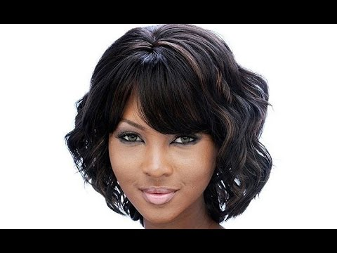 black hair styles bob cut 30 sew in bob hairstyles with bangs sew in bob 6575