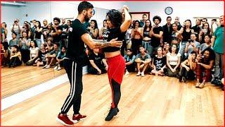 Fantastic Brazilian Zouk Dance by Thayná Trovick & Léo Chaffe | New York City Zouk Festival 2018