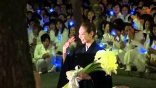 2015年5月10日 東京宝塚劇場星組千秋楽、柚希礼音さんの出待ちです。