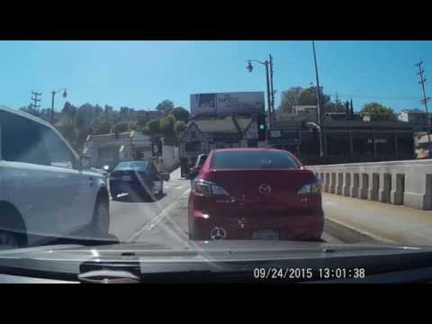 L.A. Road Rage caught on Dash Cam