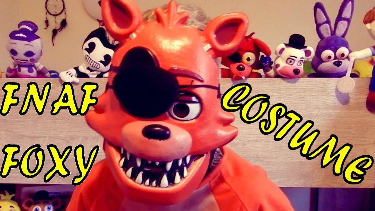 2017 05 freddy fazbear costume amazon - Fnaf Foxy Costume Halloween Five Nights At Freddy S