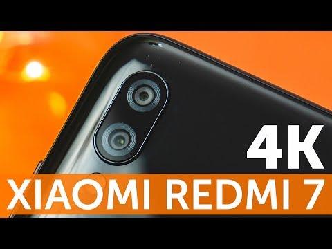 Тест 4K видео Xiaomi Redmi 7 в OpenCamera - улучшаем видео с камеры