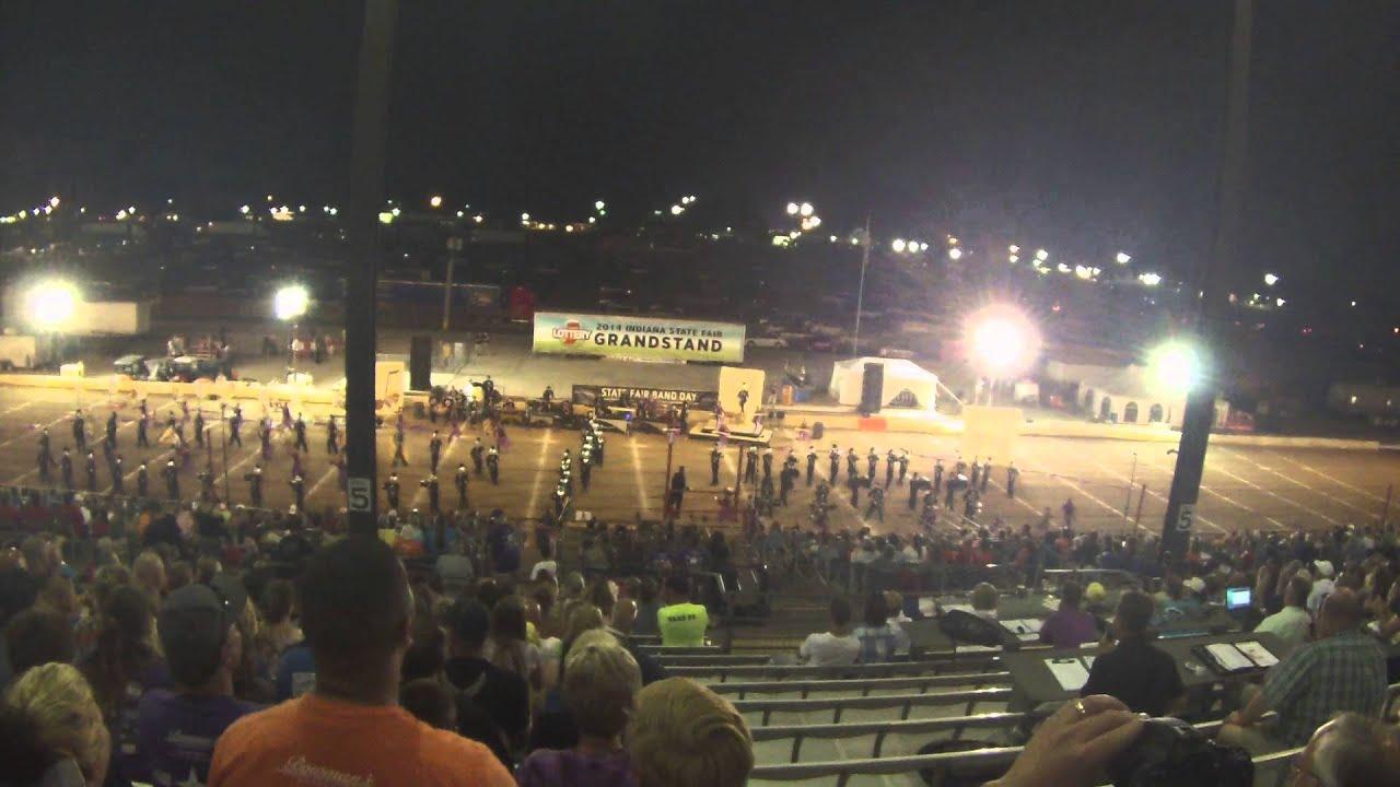 Muncie Central Spirit of Muncie Band and Guard - 2014 State Fair Night  Show  CHAMPIONSHIP RUN!