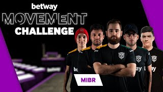 MIBR Plays Betway's Movement Challenge