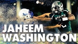 Jaheem Washington | RB | Football | Mid-Season Highlights | College Recruiting Video | Class of 2016