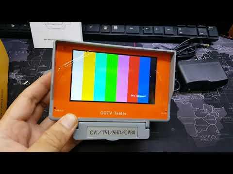 【威利購】CCTV TESTER監視器測試器 工程寶 全新庫存品便宜賣 僅此一台