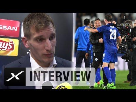 "Marc Albrighton: ""Craig Shakespeare sorgt für Spaß"" | Leicester City - FC Sevilla"