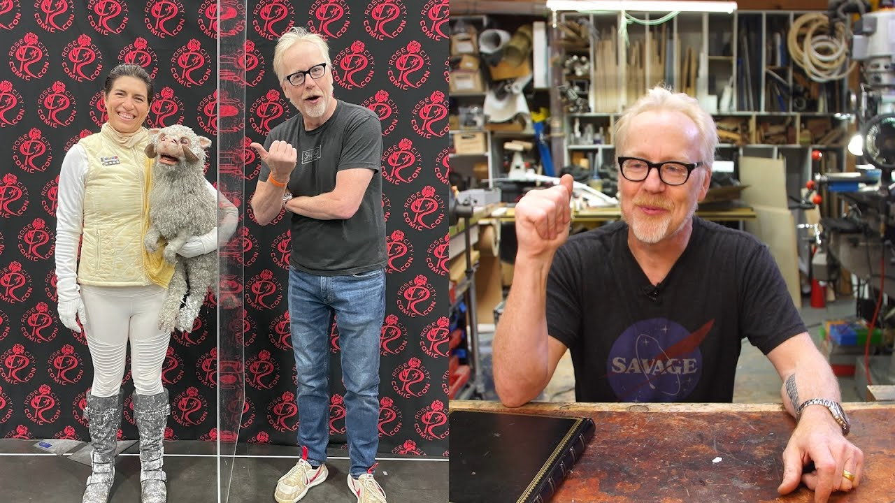 Adam Savage Reacts to Cosplayers at Rose City Comic Con!
