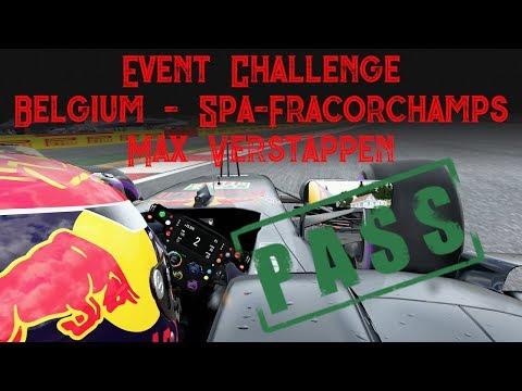 F1 2017: Event - Belgium - Spa-Francorchamps - Max Verstappen
