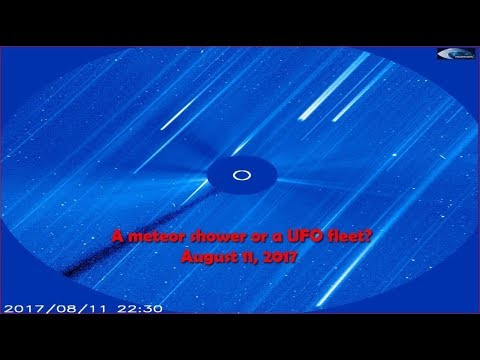nouvel ordre mondial | A meteor shower or a UFO fleet? August 11, 2017