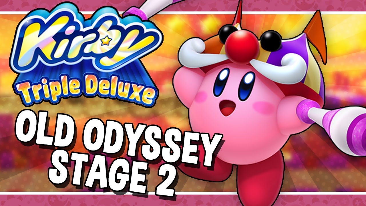 kirby triple deluxe old odyssey stage 2 bonkers
