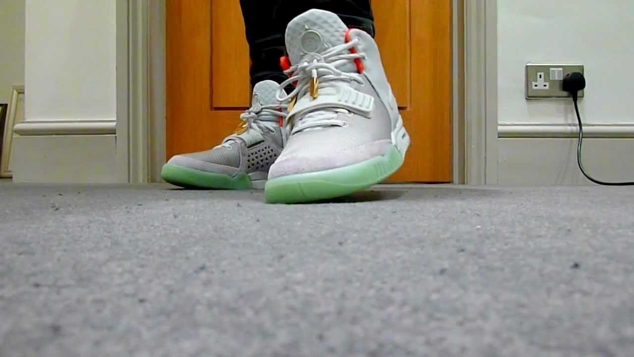 ... sale nike air yeezy 2 wolf grey pure platinum on feet review youtube  0256a fe920 2e42f7b600