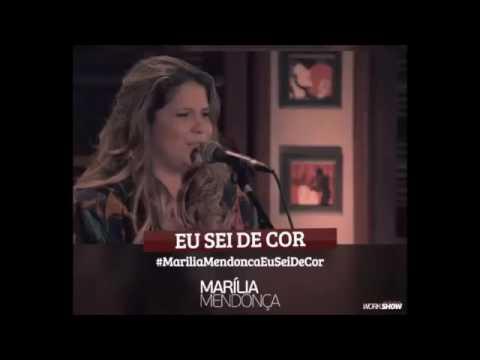 Marília Mendonça Eu Sei de Cor Música Nova 2016