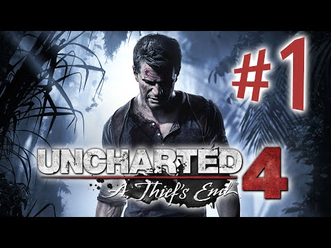 Uncharted 4: A Thief's End - Parte 1: Os Irmãos Drake!! [ Playstation 4 - Playthrough PT-BR ]