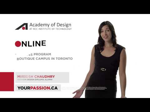 Academy of Design - What's Your Passion?