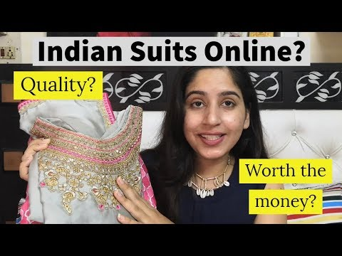 Where To Buy Indian Suits Online? | Lehenga, Anarkali Suits Online | Ishita Bathla