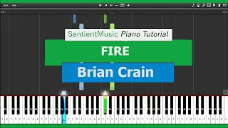 Brian Crain Piano Lessons FIRE Piano Tutorial HD