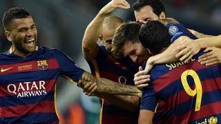 FC Barcelone 5-4 FC Séville (11.08.2015) HD