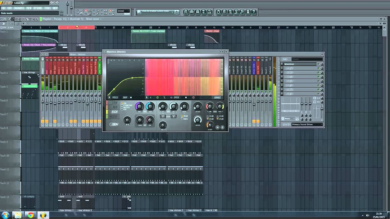 fl studio maximus plugin