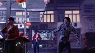 94 Sleeping Dogs Walkthrough HD PS3 (Nightmare in North Point DLC 1/?) Freeze Glitch