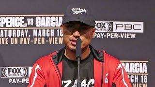 Mikey Garcia POST FIGHT PRESS CONFERENCE vs. Errol Spence Jr.