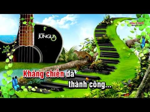 Karaoke - Như Có Bác Hồ Trong Ngày Vui Đại Thắng - Châu Gia Chuyển