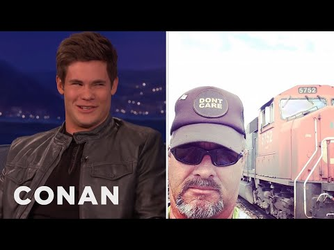 Adam DeVine's Dad Is A Real Man's Man   CONAN on TBS