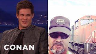 Adam DeVine's Dad Is A Real Man's Man  - CONAN on TBS