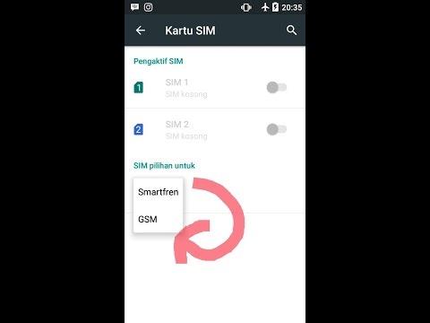 Rahasia Merubah koneksi Internet dari CDMA ke GSM pada Andromax A 4G ( TANPA ROOT & APLIKASI)