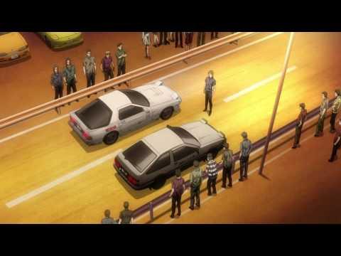 Toyota Sprinter Trueno GT-Apex AE86 Hachi-Roku Vs Mazda FC3S ~III RX7 Red Suns Per Initial D Legend3