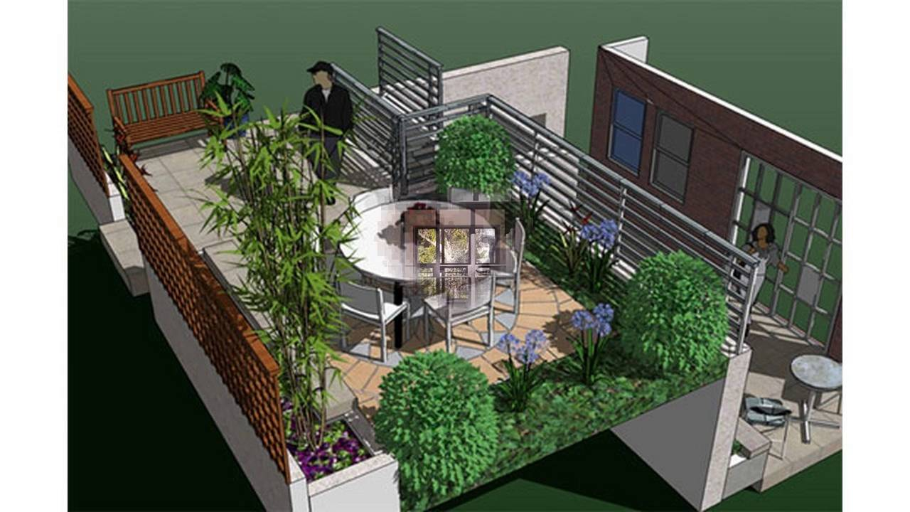 Small Terraced Garden Ideas Youtube